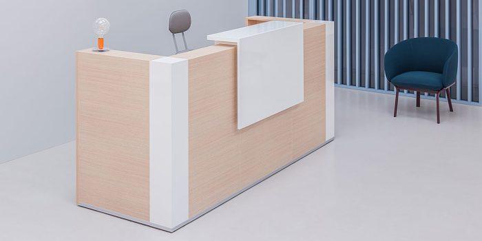 1 Person Reception Counter