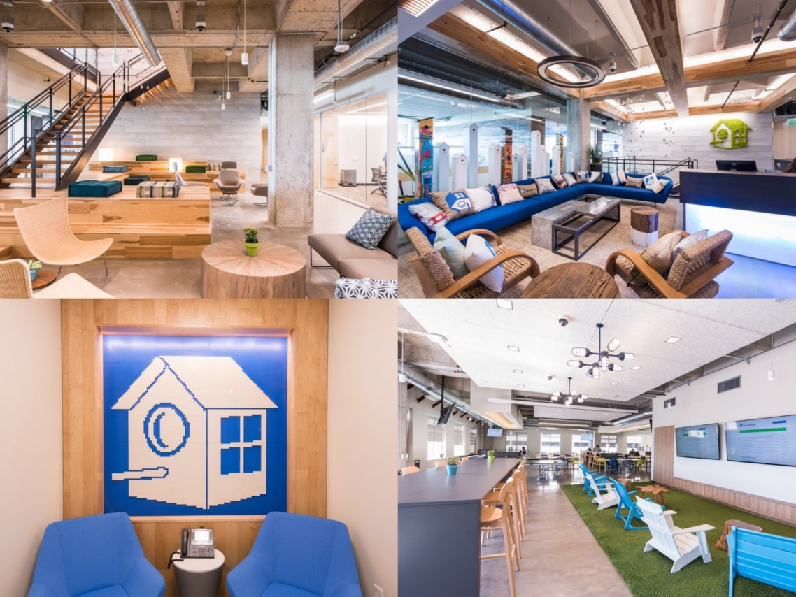1.Homeaway offices wood design interiors spaceist