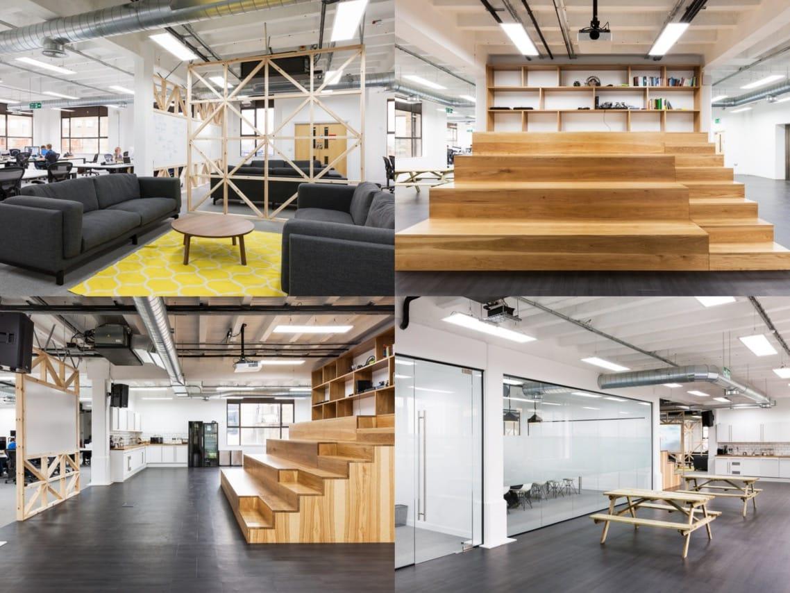 1.gocardless office design ideas wood spaceist