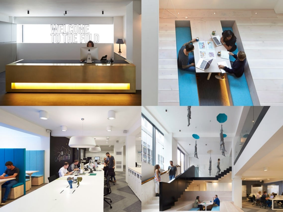 1a Fold 7 office refurbishment by Paul Crofts studio FX awards interior design winner spaceist blog post