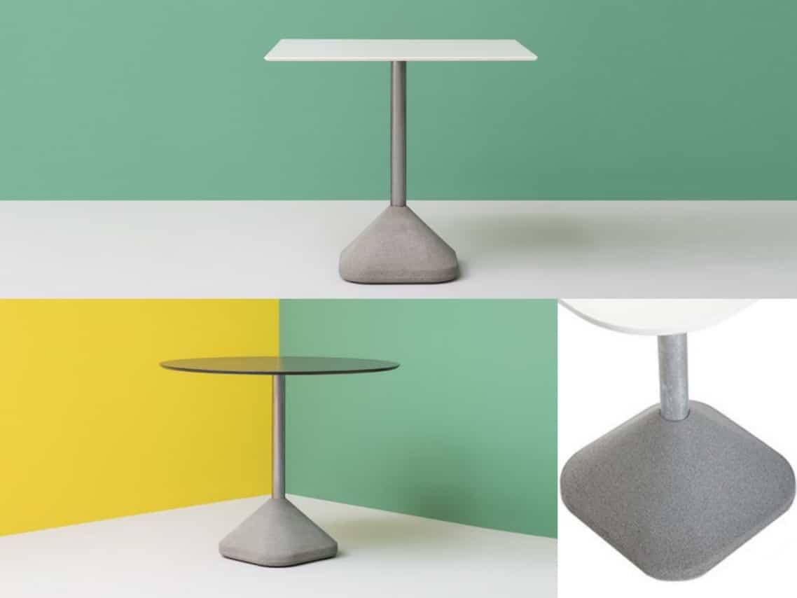 1a concrete table four materials table spaceist design blog