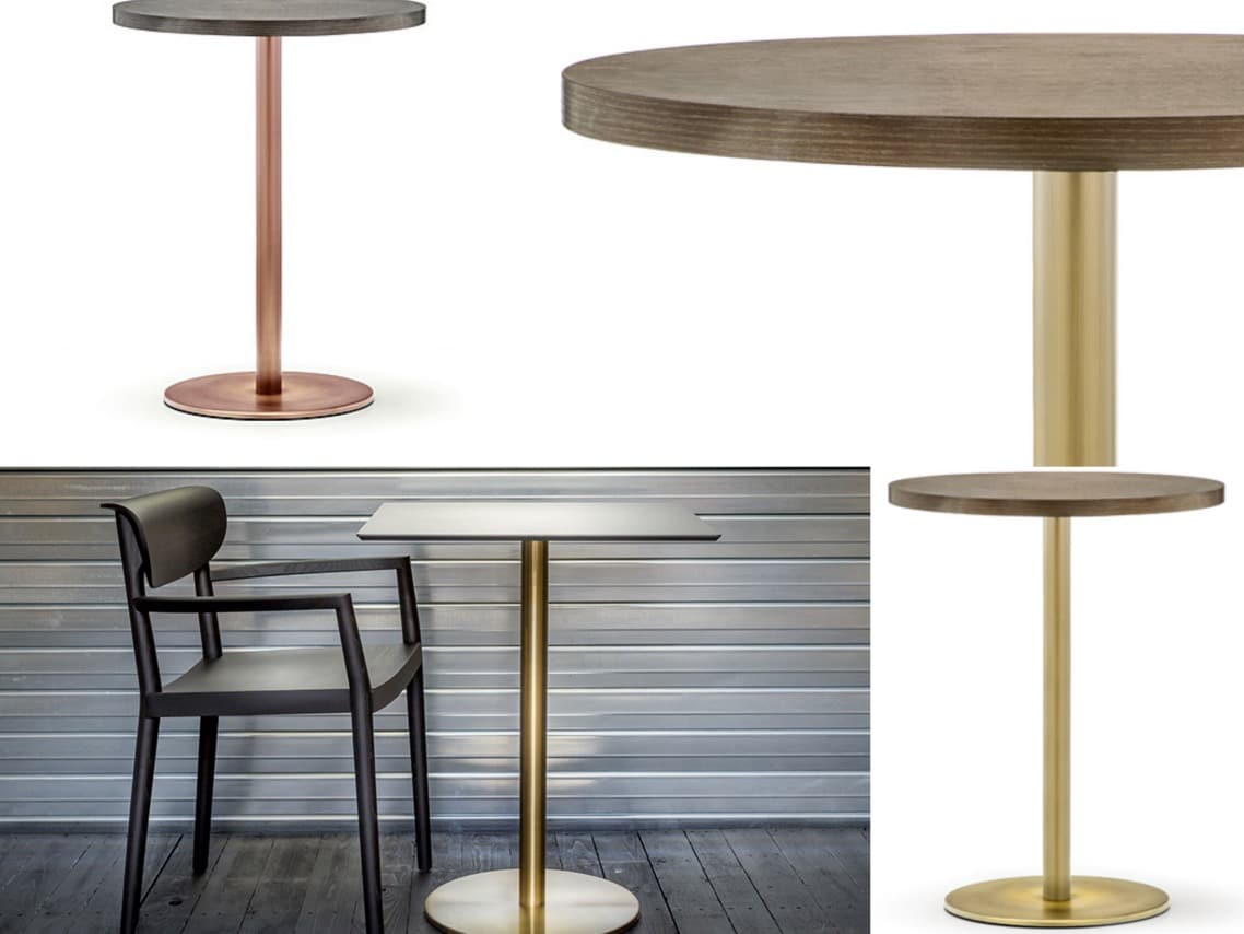 1aInox brass table gold spaceist four materials blog post