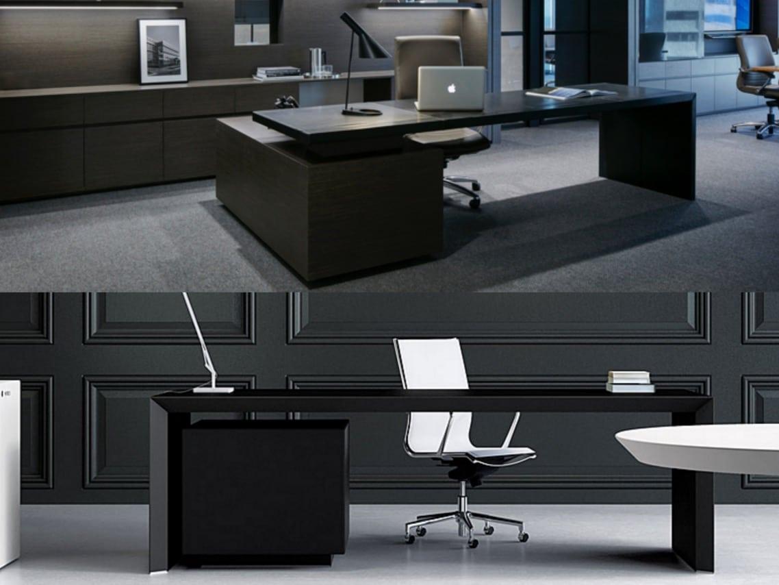 1executive desk office black CEo desk salta workplace design spaceist blog post