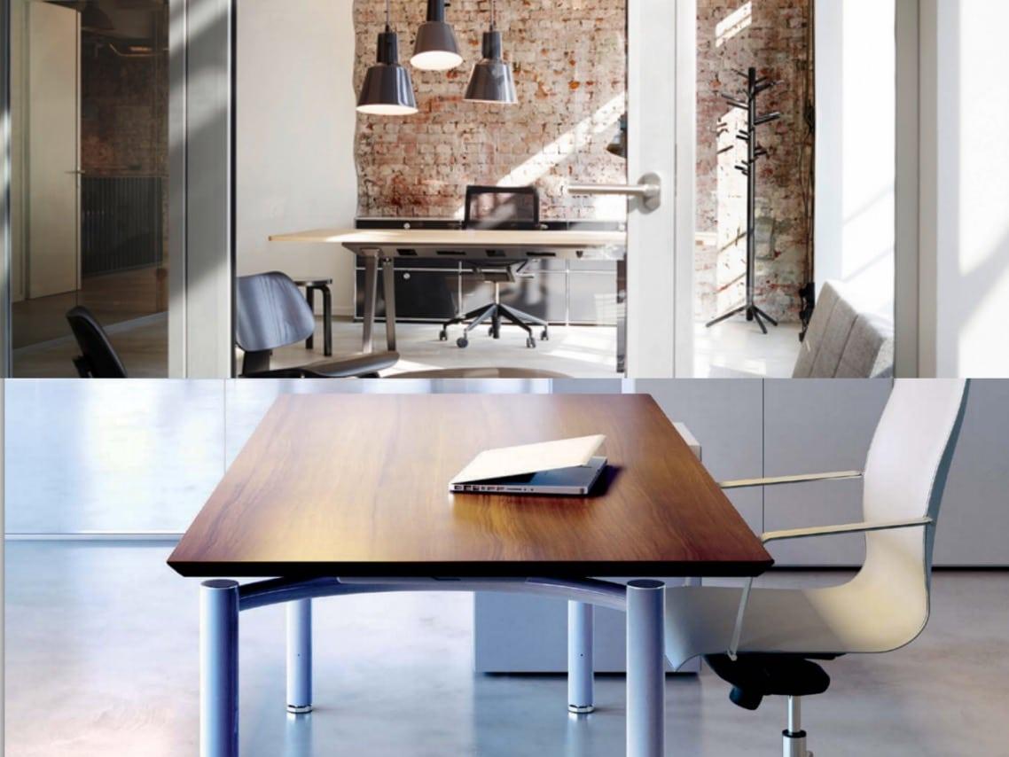1executive office desk Meta wood top desk spaceist blog post