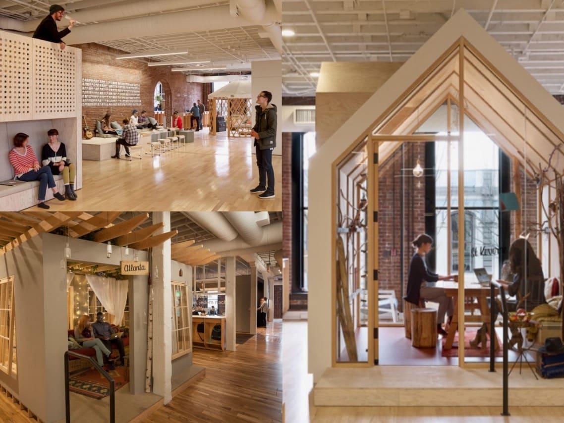 1interiorexterior Airbnb headquarters Portland Oregon spaceist blogpost