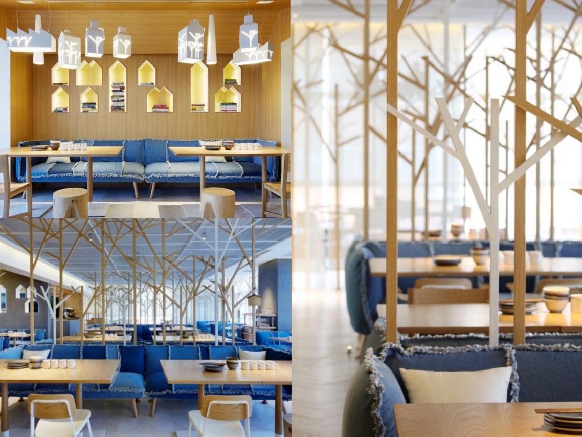 1interiorexterior Tonkatsu Restaurant by Golucci International Design Beijing China spaceist blog post
