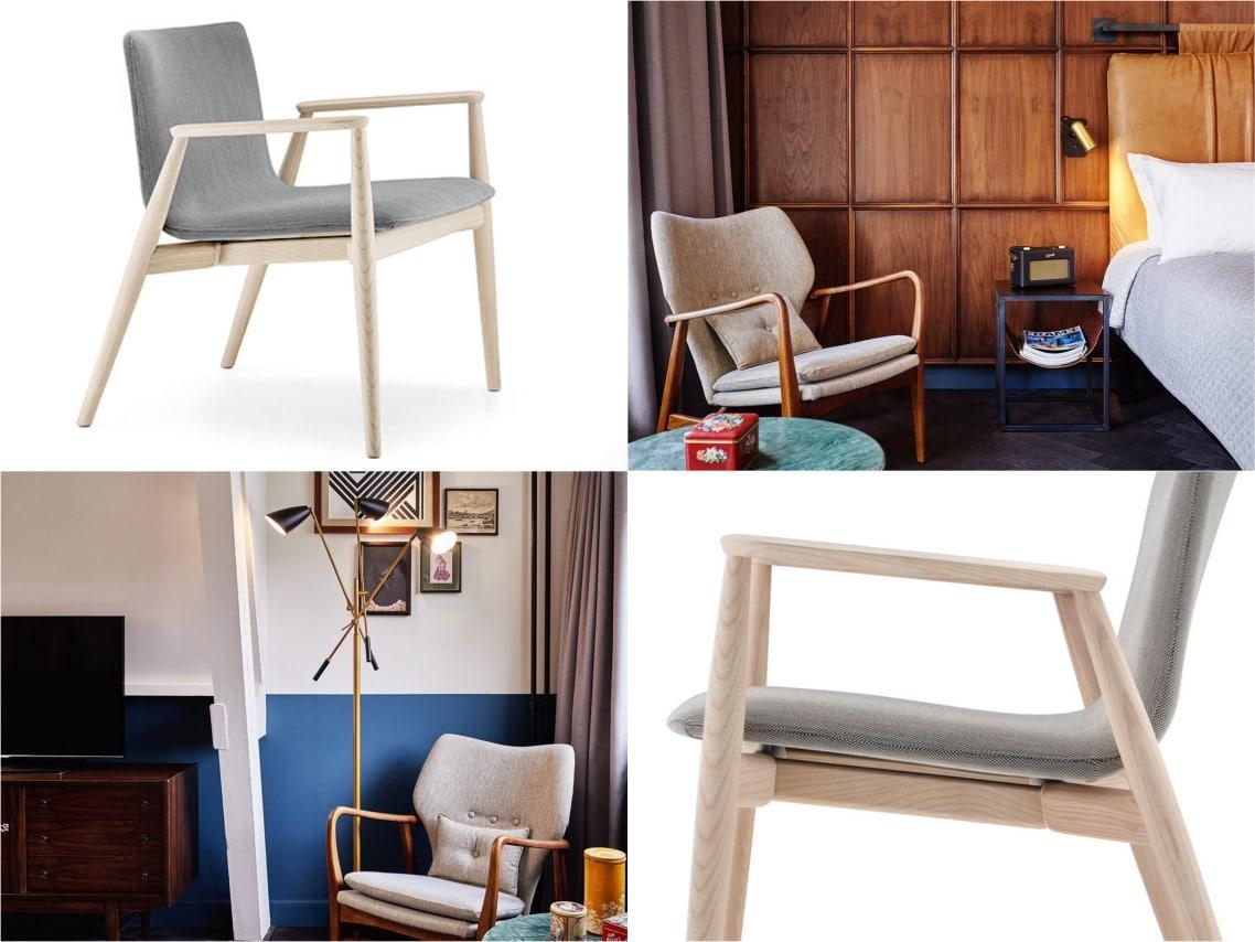 1malmo chair hotel hoxton amsterdam interiors spaceistblog