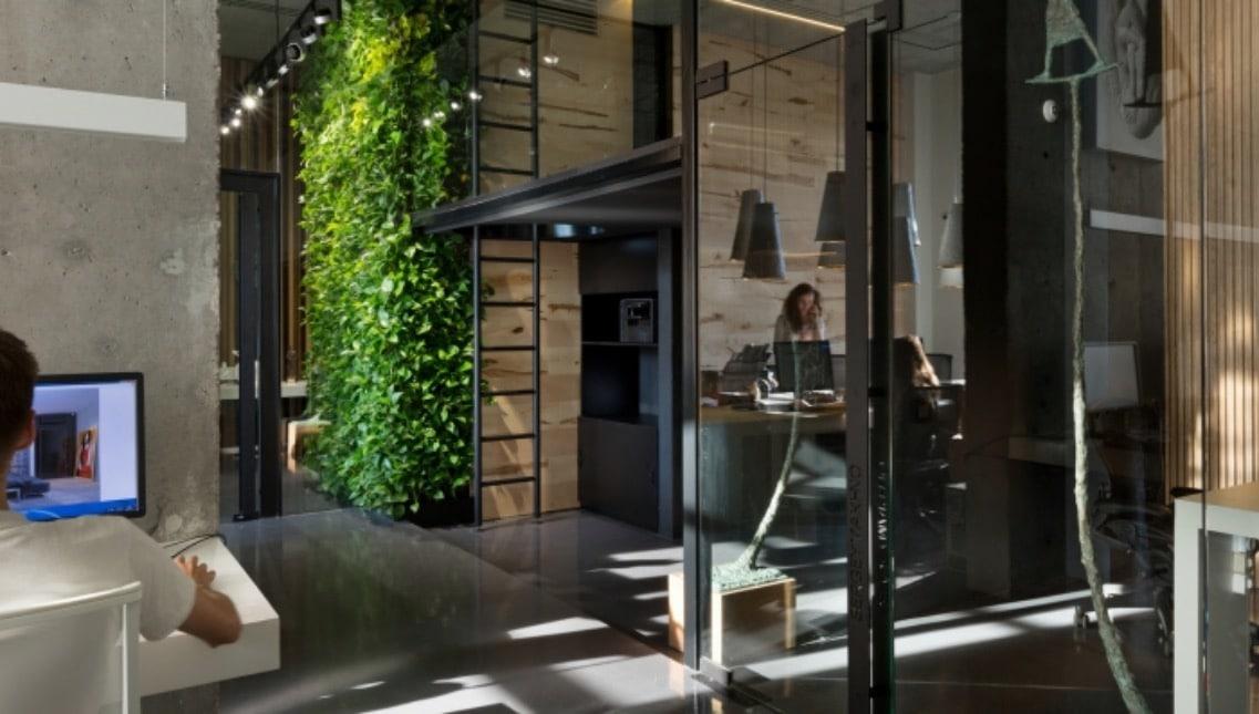 1studio makhno office design 4 green wall spaceist blog workplace