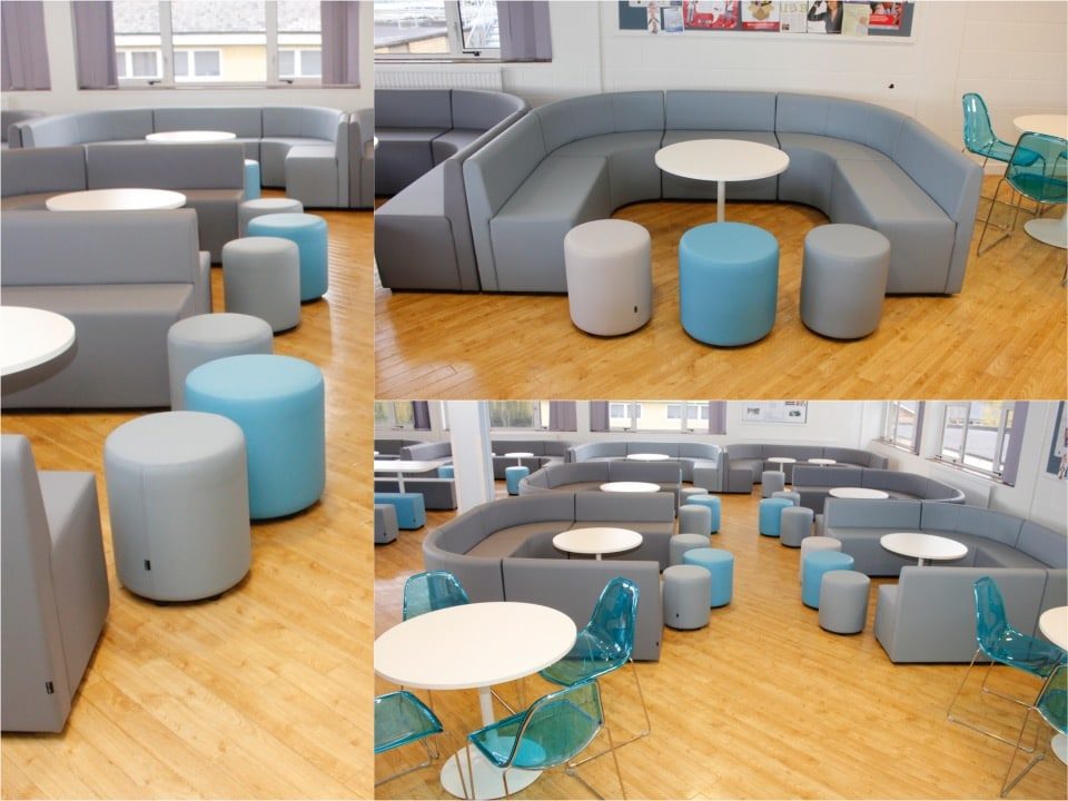 2.Modular seating oxford6thform Spaceist