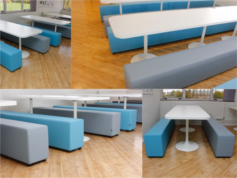 3.Soft bench canteen range Spaceist oxford6thform