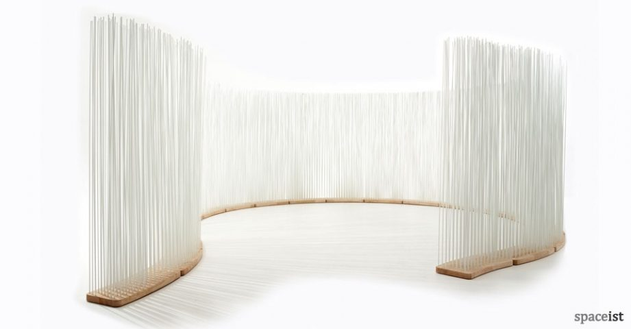 Curved Room Divider From Extremis Spaceist Blog