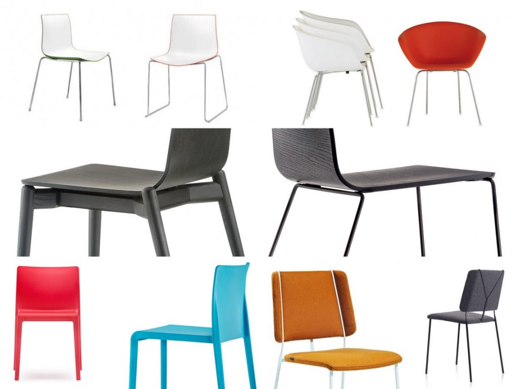 Spotlight on chairs Six portable and stackable options