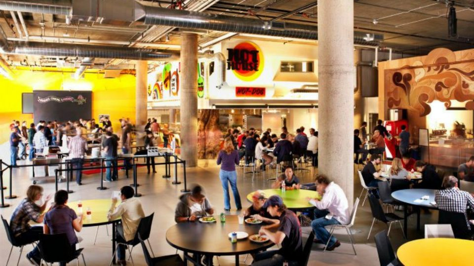 Canteen archives spaceist for Zynga office design