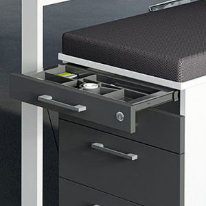 6. What are office cabinets made from