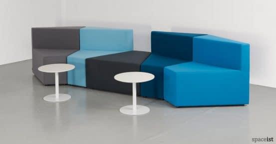 77 geometric office sofa in blue