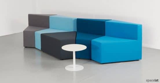 77 modualr sofa with white table