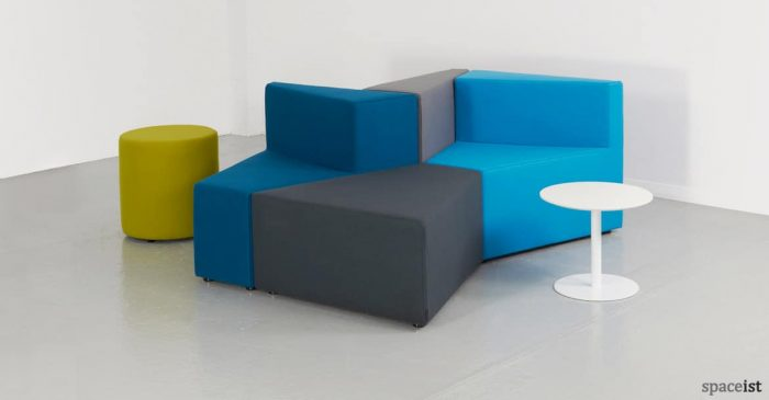77 modular pod sofa for office reception areas