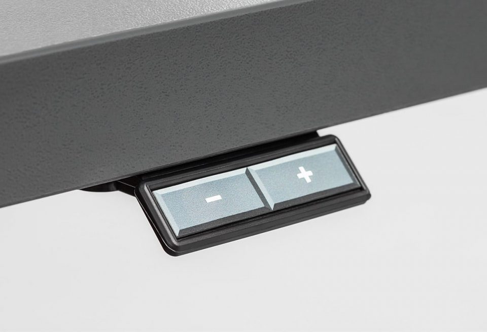 Adjustable Desk Control Panel