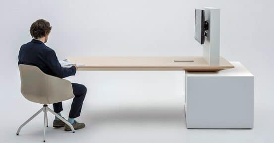 Adjustable Meeting Table