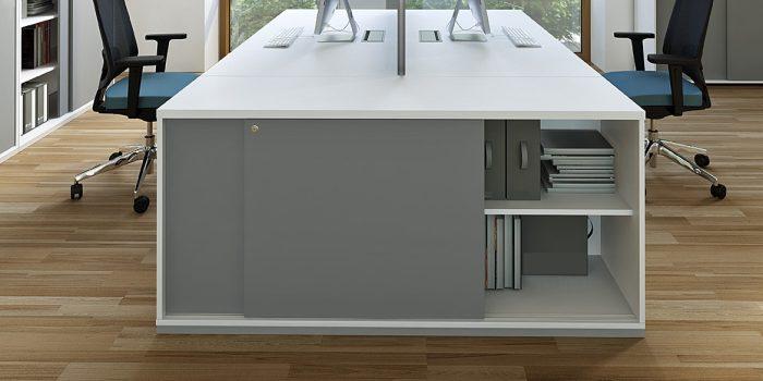 Amy desk end cabinet