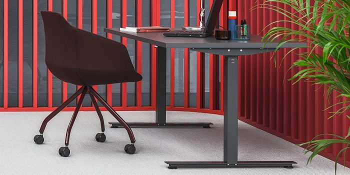 Anthracite Standing Desk
