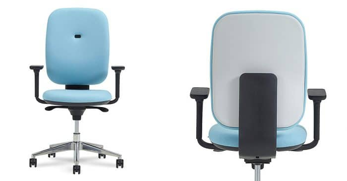 Baby Blue Desk Chair