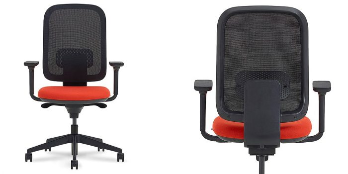 Black Mesh Swivel Office Chair