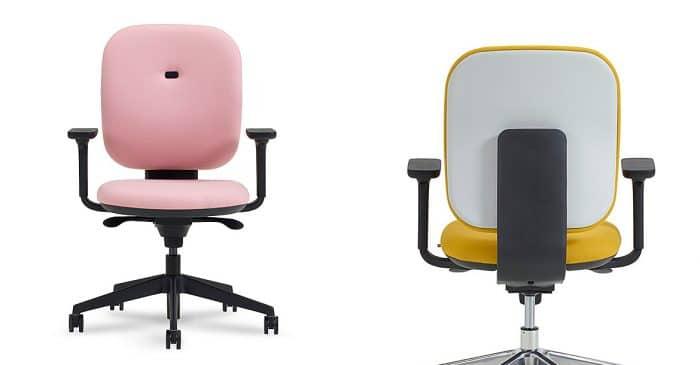 Magnificent Office Desk Chairs Swivel Chairs Spaceist London Machost Co Dining Chair Design Ideas Machostcouk