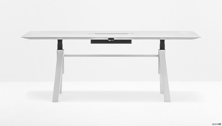 Large Height Adjustable Meeting Table
