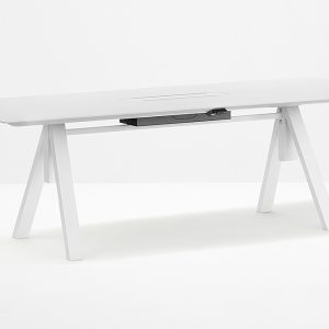 6 Person Adjustable Meeting Table