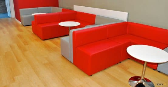 Student booth seating