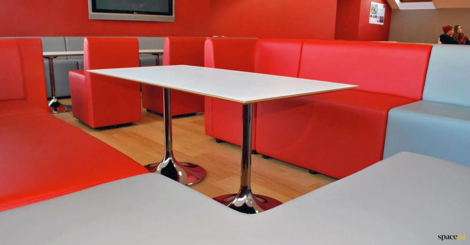 Student cafe seating