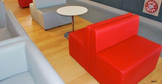 Coffee house seating university