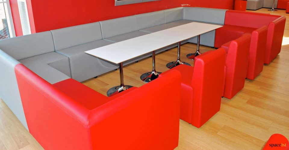 Student large booth seating
