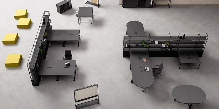 Atelier Black Desk Range