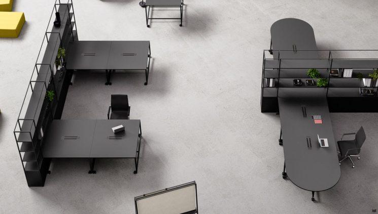 Atelier Black Desk Range