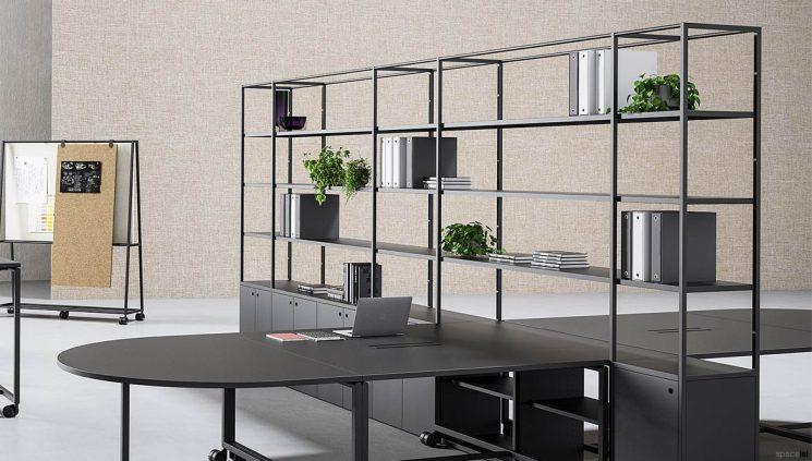 Integrated Desk + Shelving