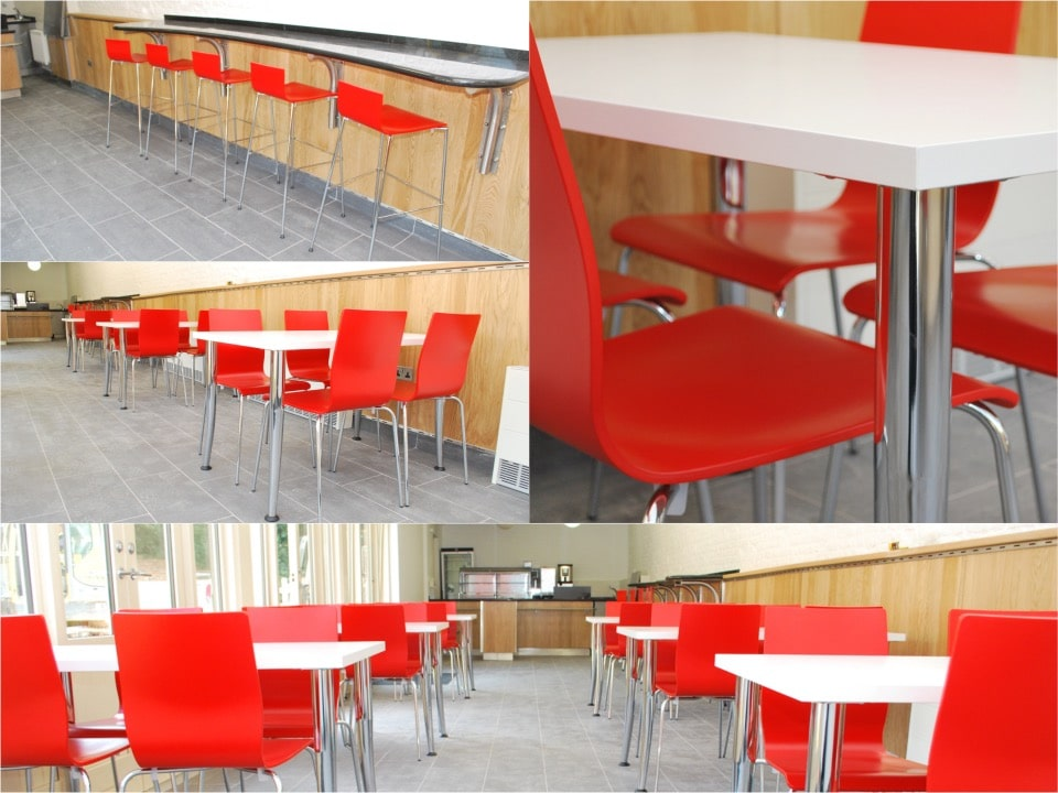 Audley End House cafe funiture Spaceist Project English Heritage