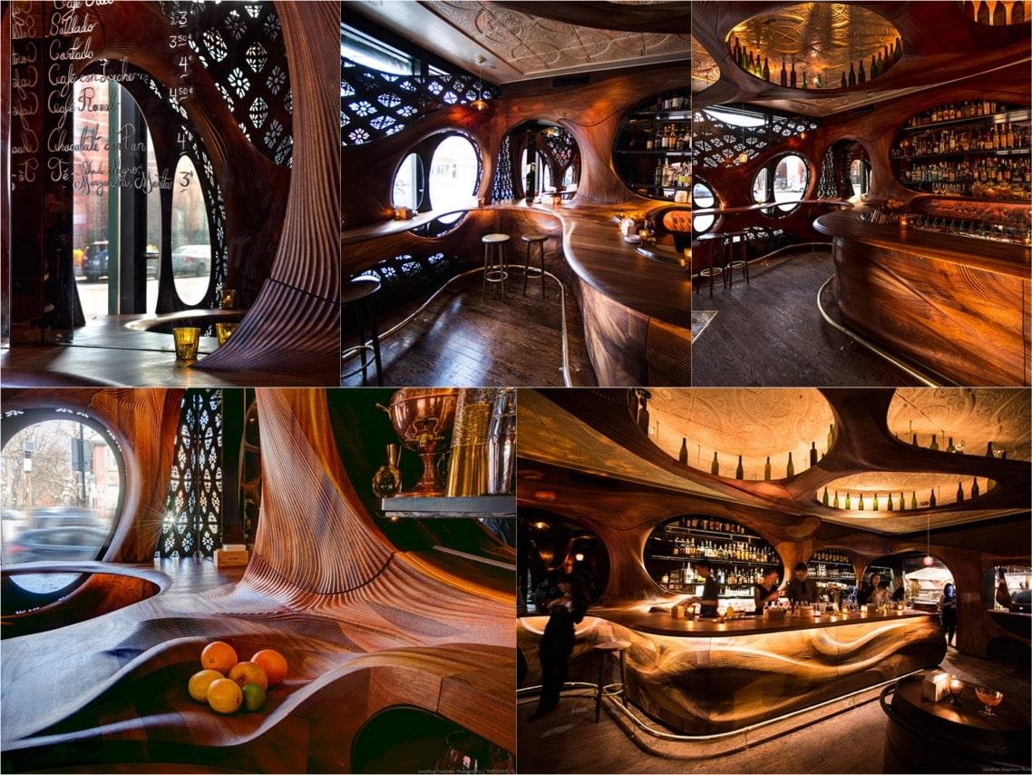 Bar raval tapas luxury interiors spaceist blogpost