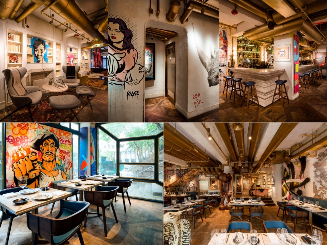 Bibo restaurant luxury interiors spaceist blogpost