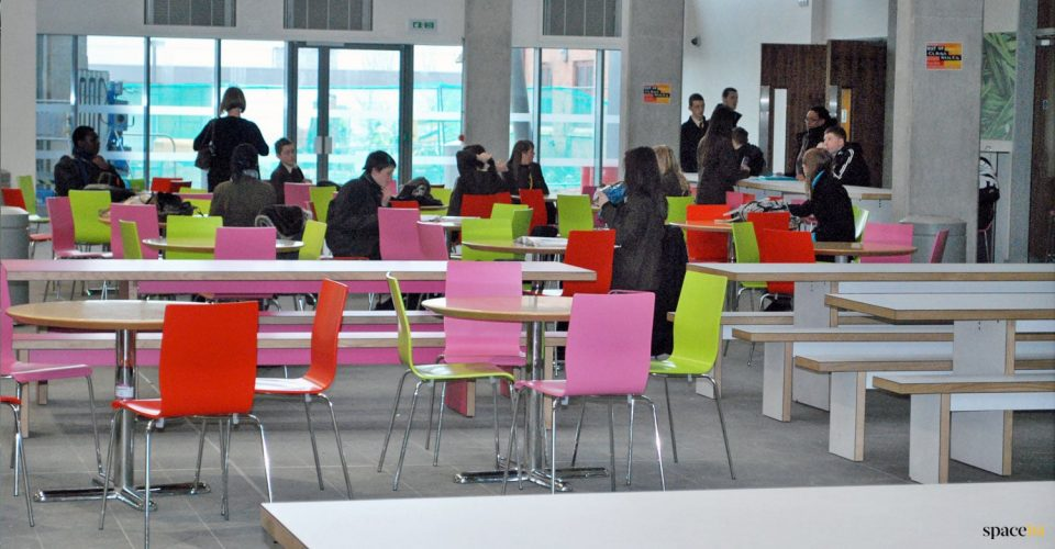 Student eating area furniture