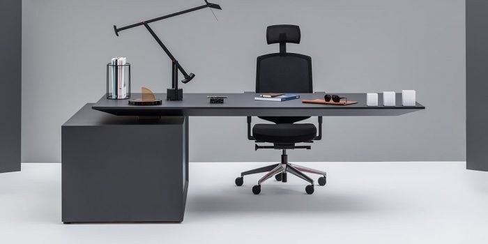 Black Executive Desk