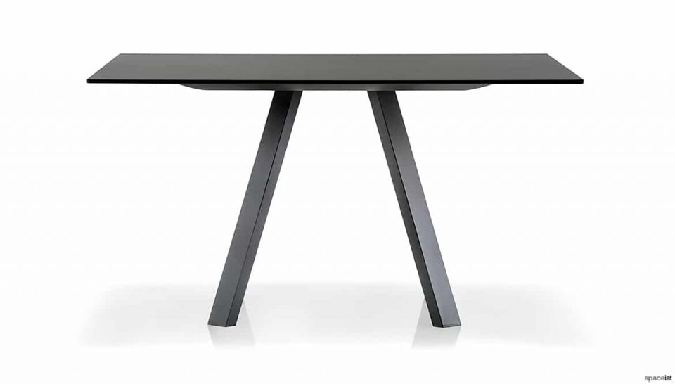 Black Square Meeting Table