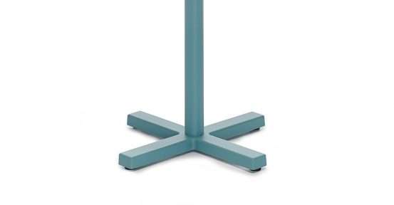 Blue Cafe Table Base