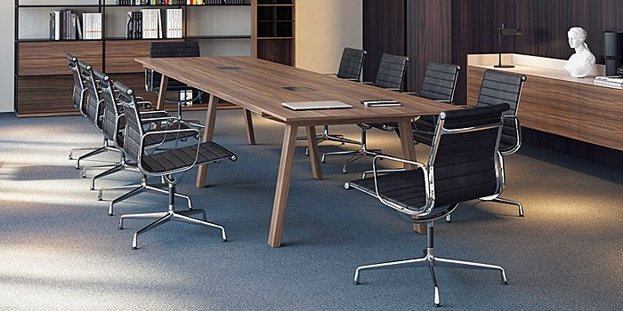 Wood Boardroom Tables