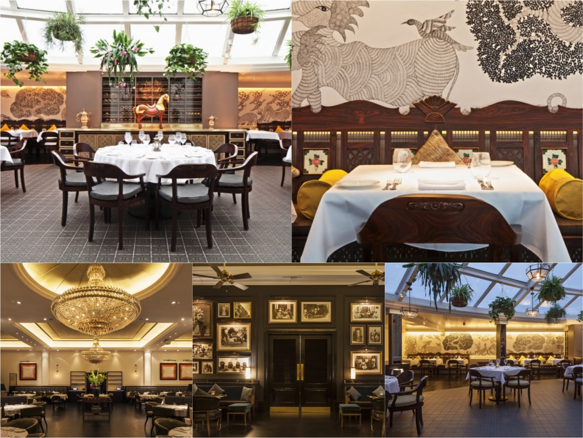 Bombay Brasserie by DesignLSM London UK Spaceist blog post