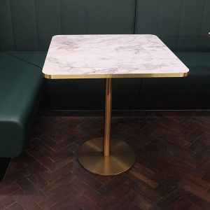 Brass Cafe Table