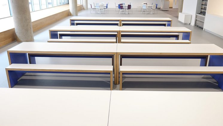 Breakout Canteen Tables White