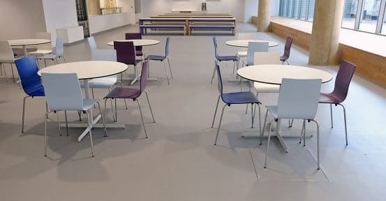 Canteen Tables + Chairs