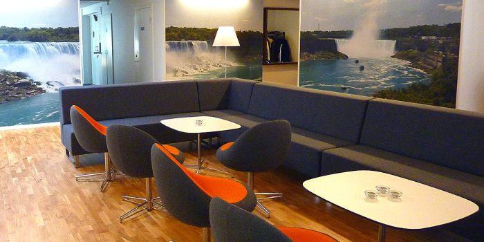 Grey Breakout Sofa